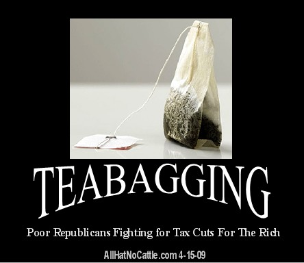 teabagging scum