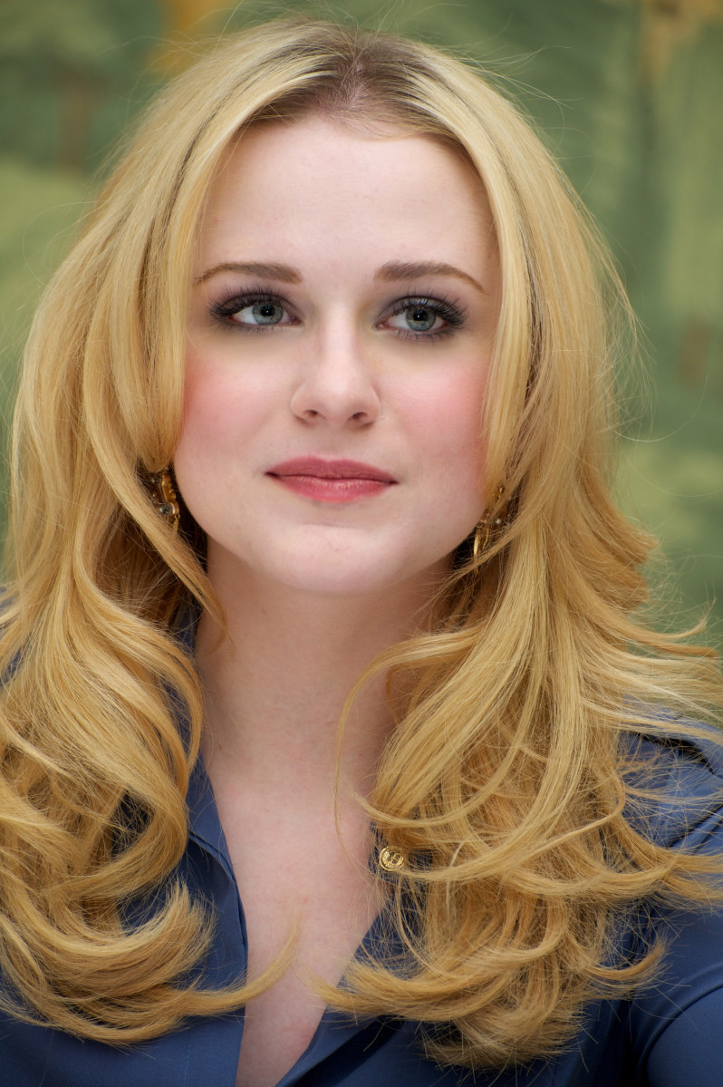 Evan Rachel Wood    on Evan Rachel Wood