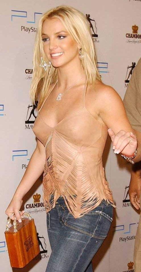 Britney Spears Boob Job