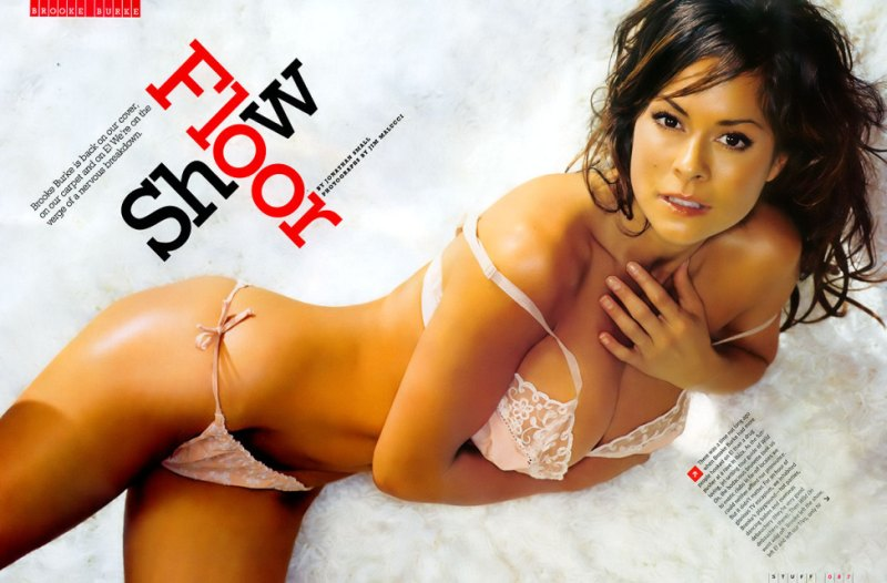 brooke burke barely