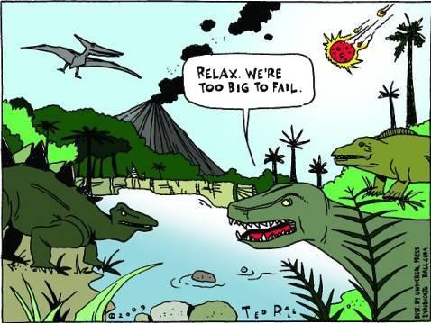 Dino Goes Corporate