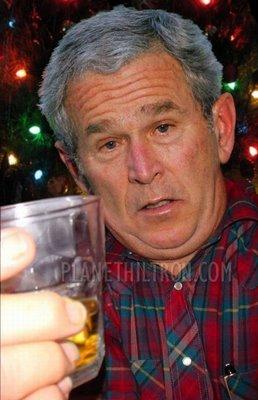 bush drunk