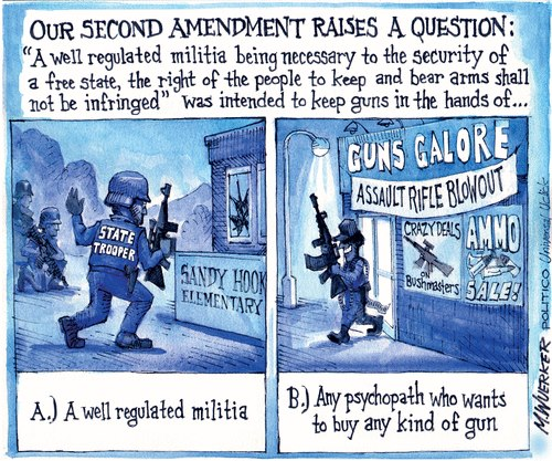 the second amendment is it outdated The second amendment was never meant to protect an individual's right to a gun the second amendment was never meant to protect an individual's right to a gun how the supreme court upended the well-established meaning of the second amendment.