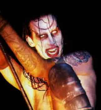Marilyn manson ribs and blow job with you