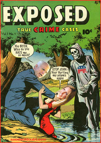 BartCop.com Volume 2111 - Super Tuesday - top toon, McCain vs Coulter, GOP Death watch