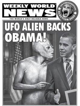 alien endorses obama