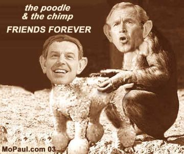Bush Blair poodle