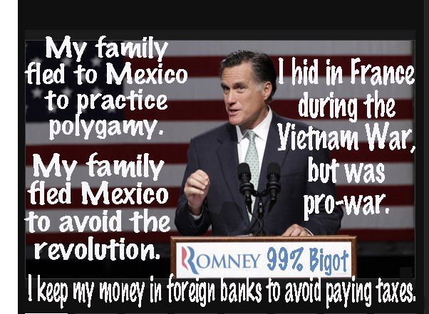 romney draft dodger