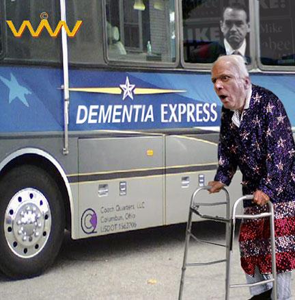 BartCop.com Volume 2116 - Scathed, Top Toon, McCain dementia